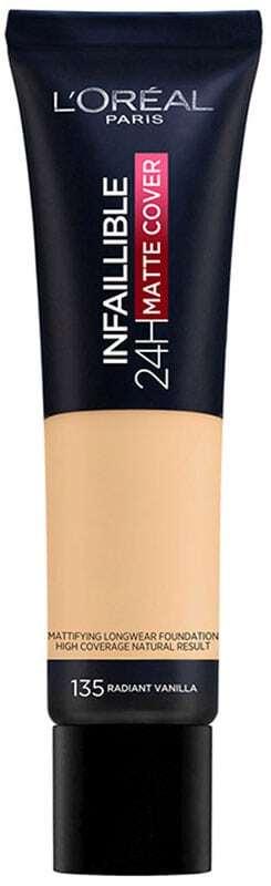 L´oréal Paris Infallible 24H Matte Cover Makeup 135 Radiant Vanilla 30ml