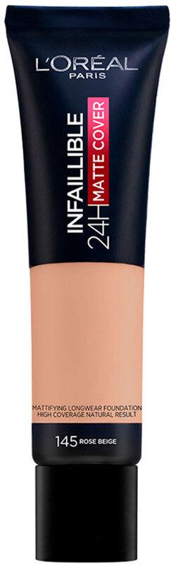 L´oréal Paris Infallible 24H Matte Cover Makeup 145 Rose Beige 30ml