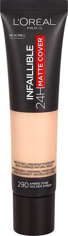 L´oréal Paris Infallible 24H Matte Cover Makeup 290 Golden Amber 30ml