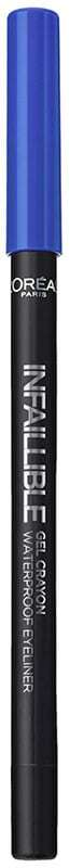 L´oréal Paris Infallible Gel Crayon Waterproof Eyeliner Eye Pencil 010 I´ve Got The Blue 1,2gr (Waterproof)