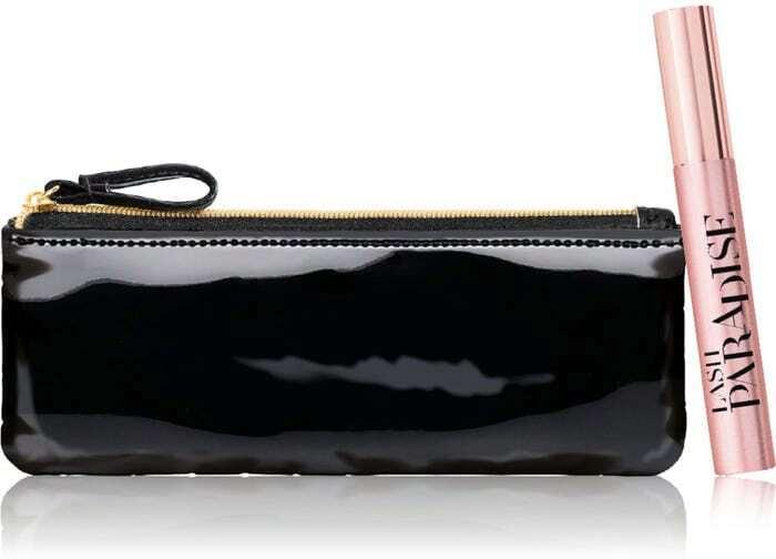 L´oréal Paris Lash Paradise Mascara Intense Black 6,4ml Combo: Lash Paradise Mascara 6,4 Ml + Cosmetic Bag