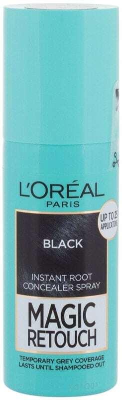 L´oréal Paris Magic Retouch Instant Root Concealer Spray Hair Color Black 75ml (All Hair Types)