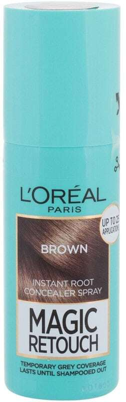 L´oréal Paris Magic Retouch Instant Root Concealer Spray Hair Color Brown 75ml (Colored Hair - All Hair Types)