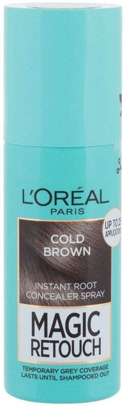 L´oréal Paris Magic Retouch Instant Root Concealer Spray Hair Color Cold Brown 75ml (All Hair Types)
