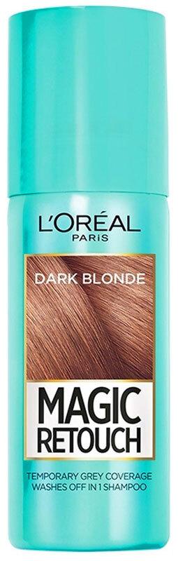 L´oréal Paris Magic Retouch Instant Root Concealer Spray Hair Color Dark Blond 75ml (Colored Hair - Blonde Hair - All Hair Types)