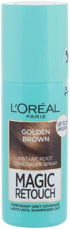 L´oréal Paris Magic Retouch Instant Root Concealer Spray Hair Color Golden Brown 75ml (All Hair Types)