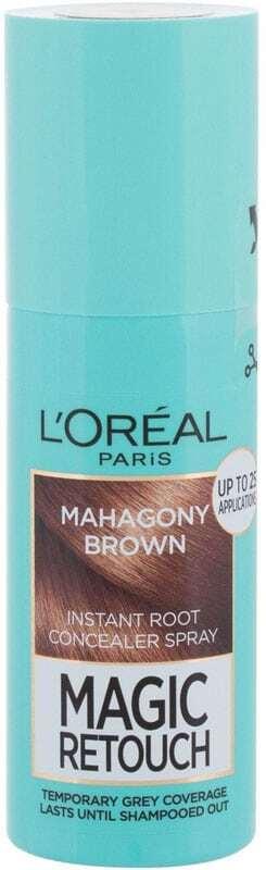 L´oréal Paris Magic Retouch Instant Root Concealer Spray Hair Color Mahagony Brown 75ml (All Hair Types)