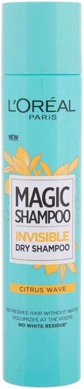 L´oréal Paris Magic Shampoo Citrus Wave Dry Shampoo 200ml (Oily Hair - All Hair Types)
