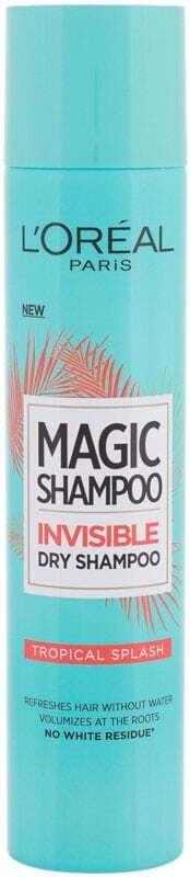 L´oréal Paris Magic Shampoo Tropical Splash Dry Shampoo 200ml (Oily Hair - All Hair Types)