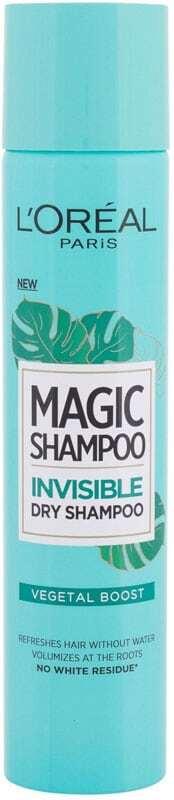 L´oréal Paris Magic Shampoo Vegetal Boost Dry Shampoo 200ml (Oily Hair - All Hair Types)
