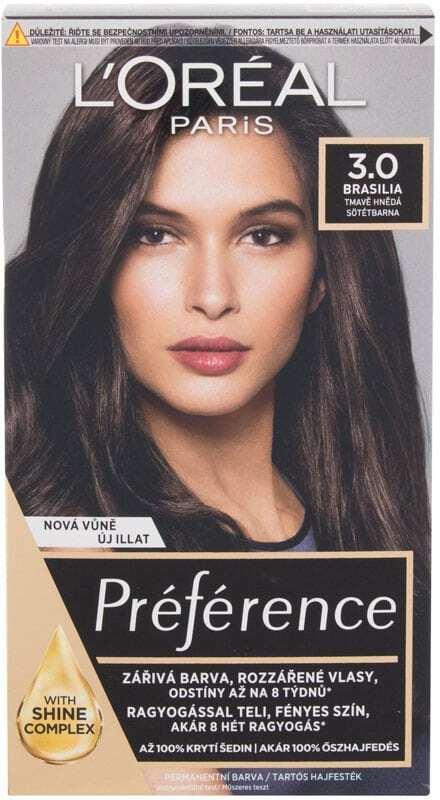 L´oréal Paris Préférence Récital Hair Color 3-B Brasilia 1pc