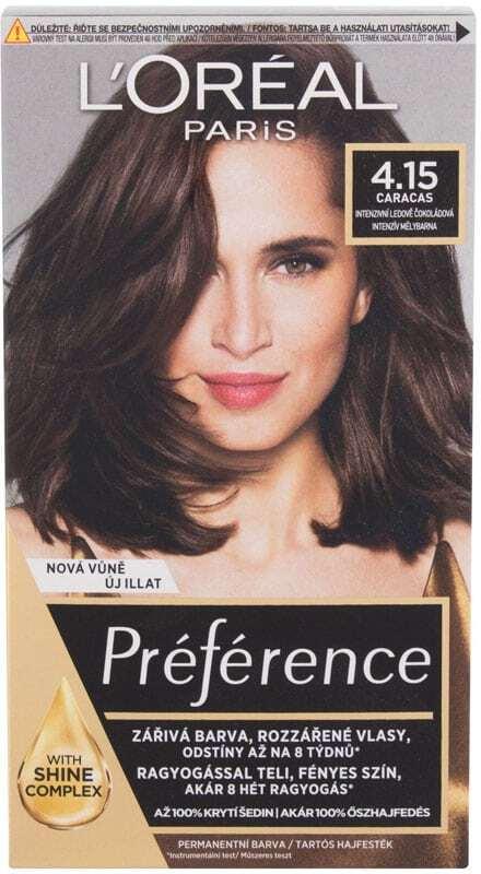 L´oréal Paris Préférence Récital Hair Color 4,15-M1 Caracas 1pc