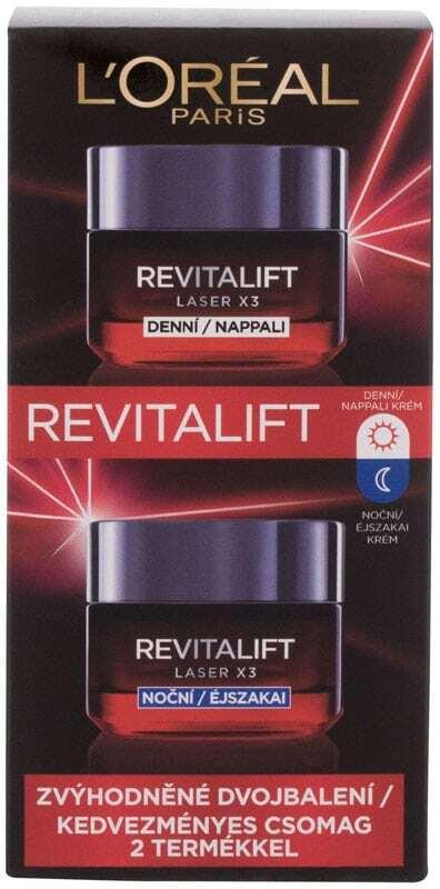 L´oréal Paris Revitalift Laser X3 Day Cream 50ml Combo: Day Cream Revitalift Laser X3 50 Ml + Night Cream Revitalift Laser X3 50 Ml (Wrinkles)