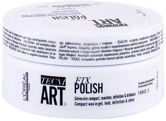 L´oréal Professionnel Tecni.Art Fix Polish Hair Wax 75ml (Medium Fixation)