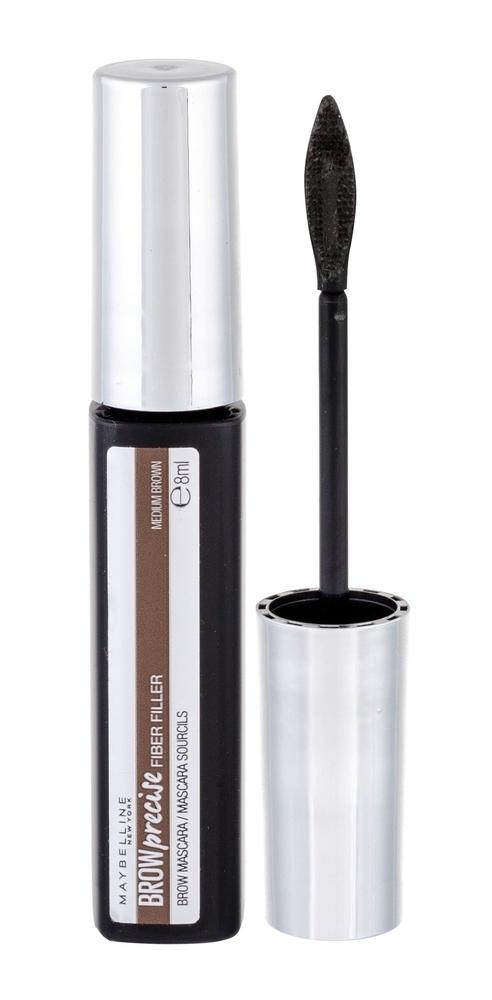 Maybelline Brow Precise Fiber Filler Eyebrow Mascara 8ml Medium Brown