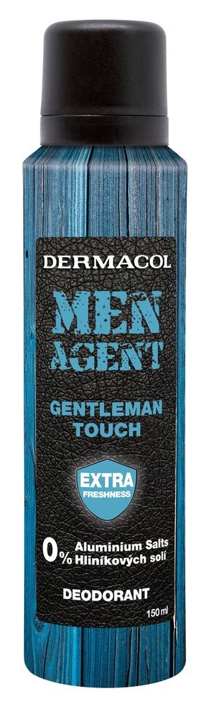 Dermacol Men Agent Gentleman Touch Deodorant 150ml Aluminum Free (Deo Spray)