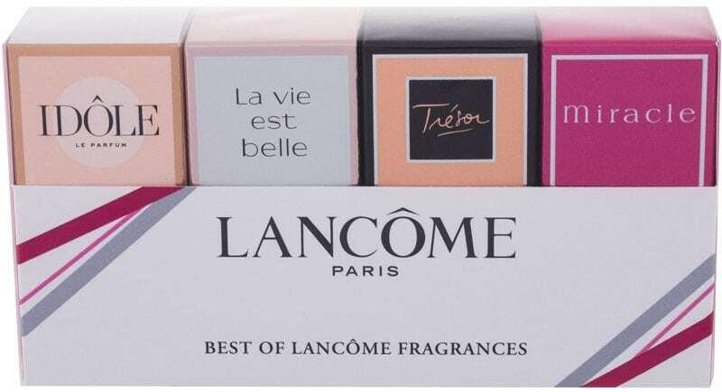 Lancôme Best Of Lancome Eau de Parfum 7,5ml Combo: Edp Trésor 7,5 Ml + Edp Idole 5 Ml + Edp La Vie Est Belle 4 Ml + Edp Miracle 5 Ml