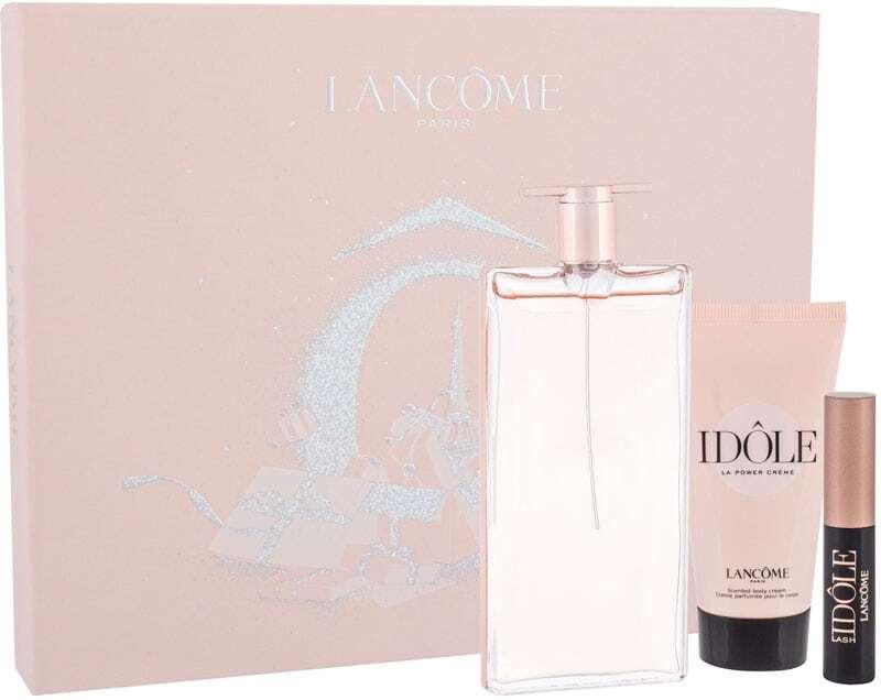 Lancôme Idole Eau de Parfum 50ml Combo: Edp 50 Ml + Body Cream 50 Ml + Lash Lifting Mascara 2,5 Ml 01 Glossy Black