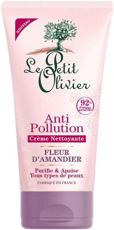 Le Petit Olivier Almond Blossom Anti-Pollution Cleansing Cream 150ml