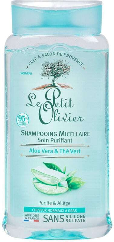 Le Petit Olivier Aloe Vera & Green Tea Purifying Micellar Shampoo 250ml (Oily Hair - Normal Hair)