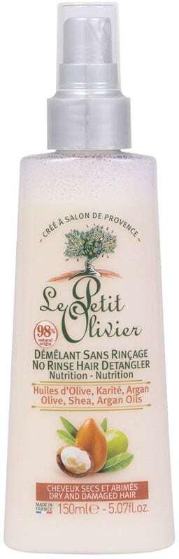 Le Petit Olivier Olive, Shea, Argan Oils No Rinse Hair Detangler Leave-in Hair Care 150ml (Damaged Hair - Dry Hair)
