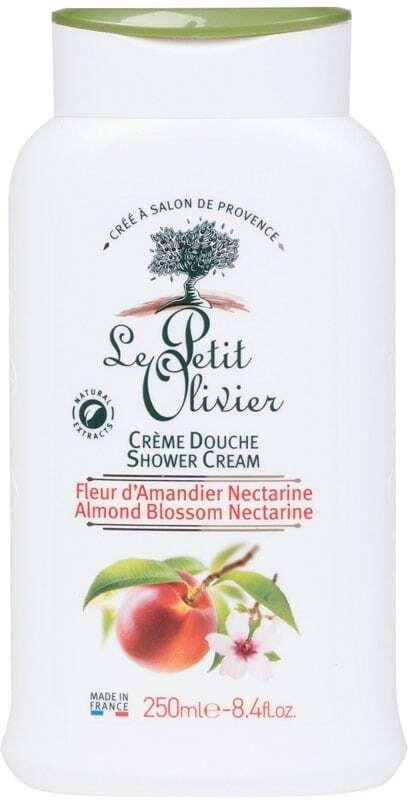 Le Petit Olivier Shower Almond Blossom Nectarine Shower Cream 250ml