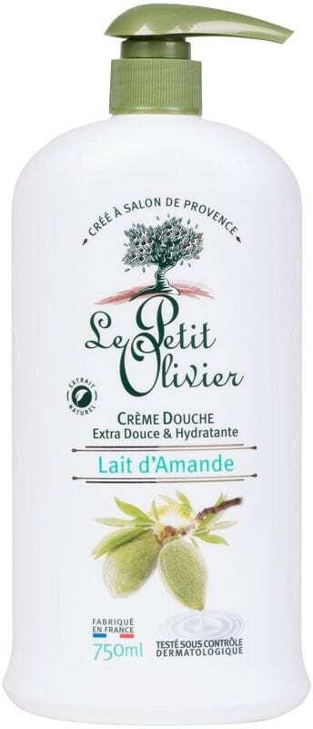 Le Petit Olivier Shower Almond Milk Shower Cream 750ml