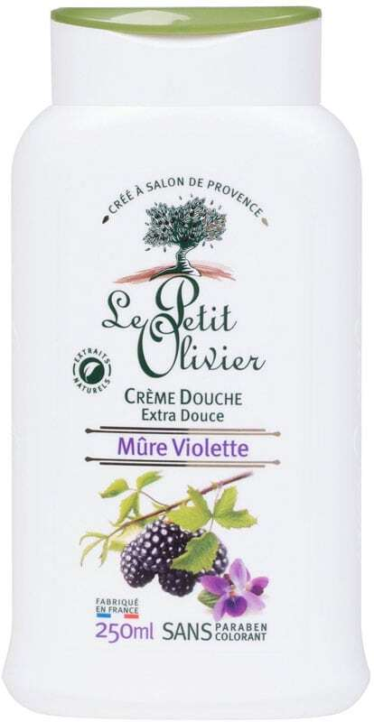 Le Petit Olivier Shower Blackberry Violet Shower Cream 250ml