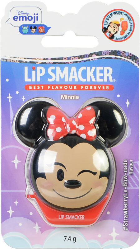 Lip Smacker Disney Emoji Minnie Strawberry Lemonade