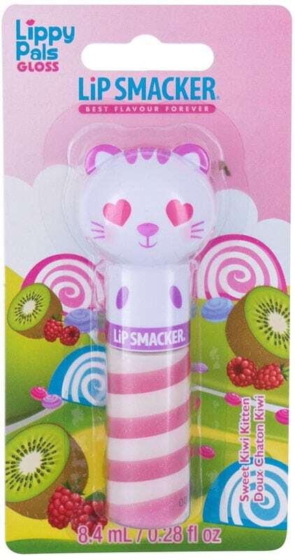 Lip Smacker Lippy Pal Swirl Gloss Kitten Sweet Kiwi Kitten