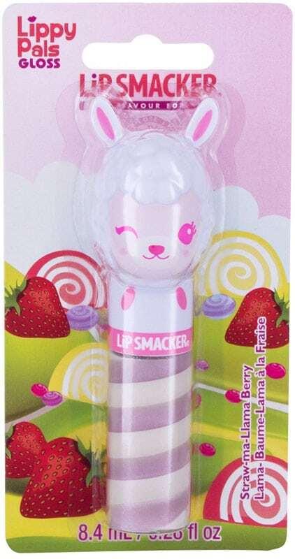Lip Smacker Lippy Pal Swirl Gloss Llama Straw-ma-Lllama Berry
