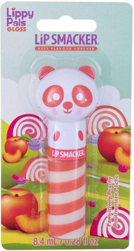 Lip Smacker Lippy Pal Swirl Gloss Panda Paws-itively Peachy