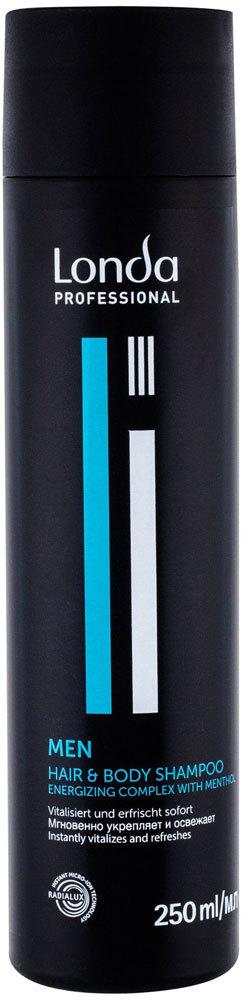 Londa Professional MEN Hair & Body Shampoo 250ml (All Hair Types)