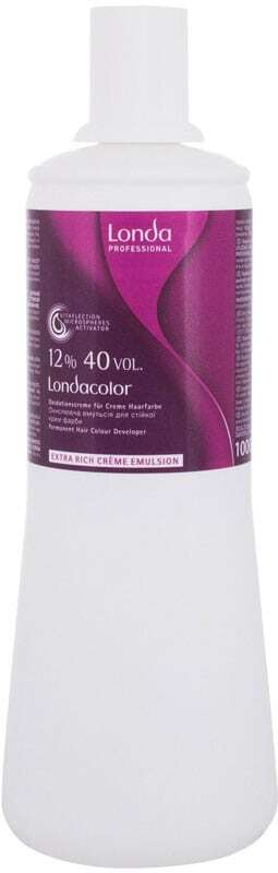 Londa Professional Permanent Colour Extra Rich Cream Emulsion 12% Hair Color 1000ml (Colored Hair - All Hair Types)
