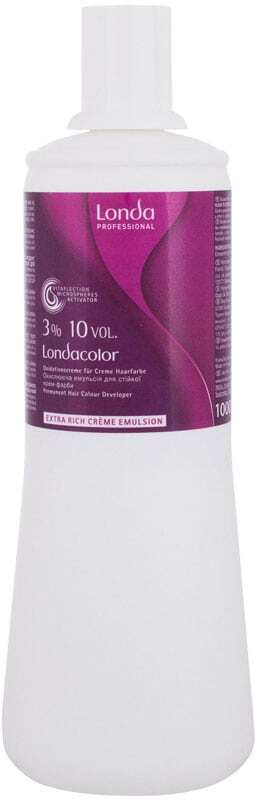 Londa Professional Permanent Colour Extra Rich Cream Emulsion 3% Hair Color 1000ml (Colored Hair - All Hair Types)