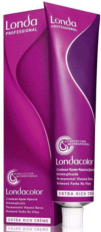 Londa Professional Permanent Colour Extra Rich Cream Hair Color 9/16 60ml (Colored Hair - Blonde Hair - All Hair Types)