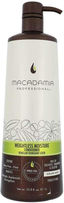 Macadamia Professional Weightless Moisture Conditioner 1000ml (Fine Hair)