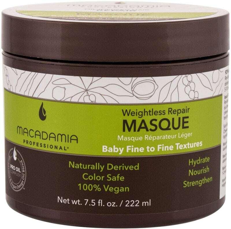 Macadamia Professional Weightless Repair Hair Mask 222ml (Damaged Hair - Dry Hair)