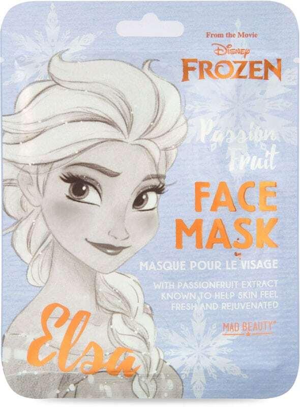 Mad Beauty Face Mask Elsa Frozen Passionfruit 25ml