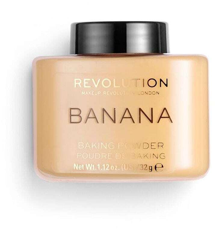 Makeup Revolution London Baking Powder Powder Banana 32gr