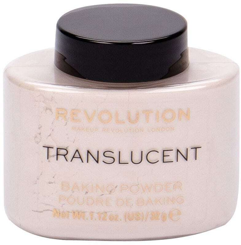 Makeup Revolution London Baking Powder Powder Translucent 32gr