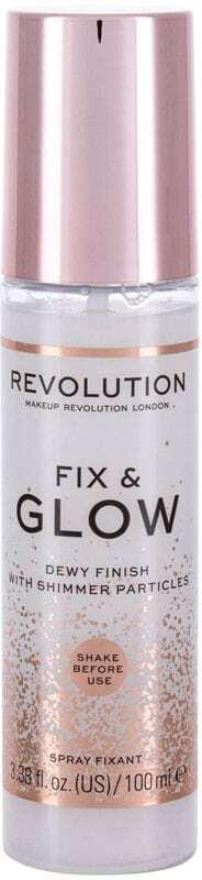 Makeup Revolution London Fix & Glow Dewy Finish Make - Up Fixator 100ml