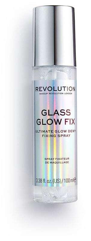 Makeup Revolution London Glass Glow Fix Make - Up Fixator 100ml