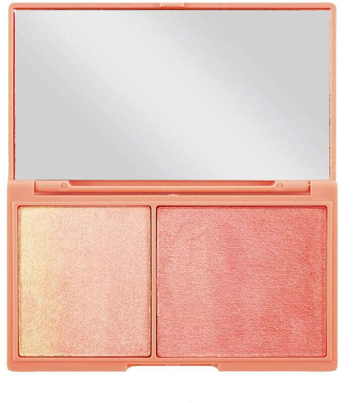 Makeup Revolution London I Heart Makeup Chocolate Duo Palette Brightener Peach And Glow 11,2gr
