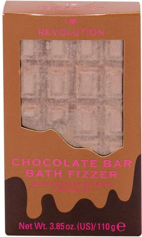 Makeup Revolution London I Heart Revolution Chocolate Bar Bath Fizzer Bath Foam Chocolate 110gr