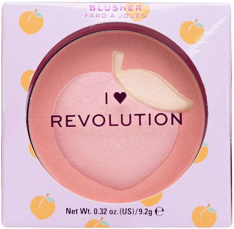 Makeup Revolution London I Heart Revolution Fruity Blusher Blush Peach 9,2gr