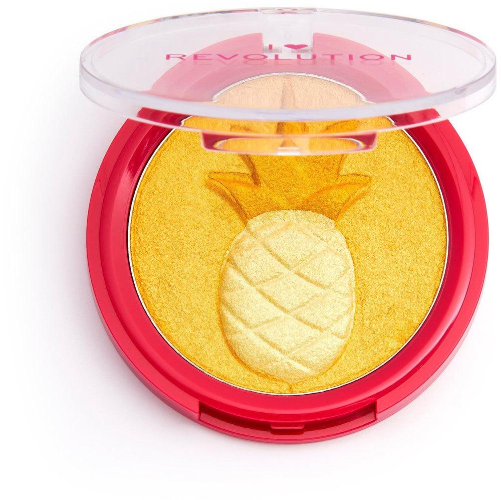 Makeup Revolution London I Heart Revolution Fruity Highlighter Brightener Pineapple 9,15gr