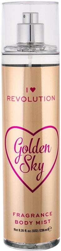 Makeup Revolution London I Heart Revolution Golden Sky Fragrance Body Mist 236ml