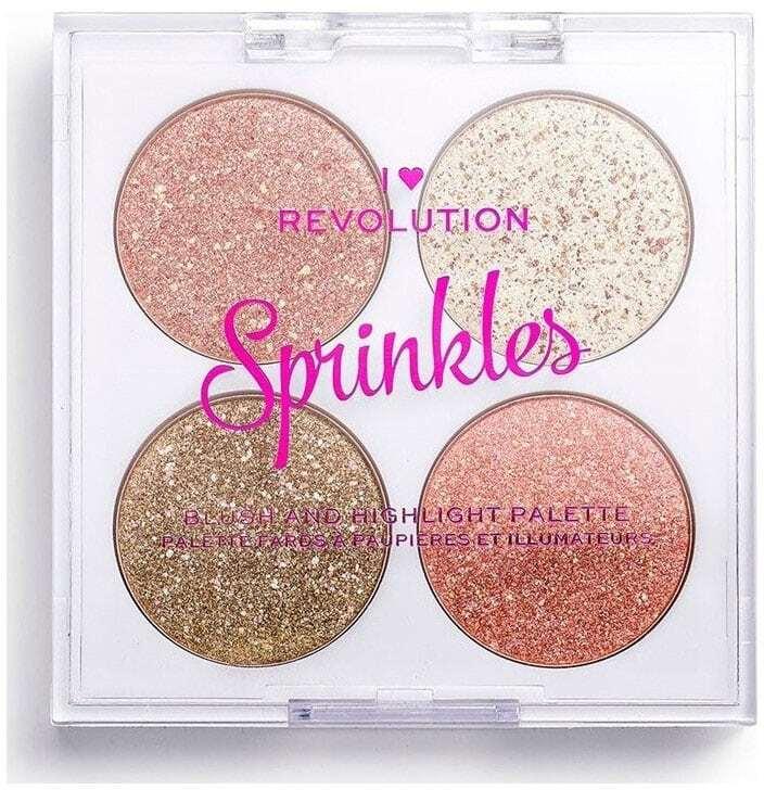 Makeup Revolution London I Heart Revolution Sprinkles Blush Confetti Cookie 6gr