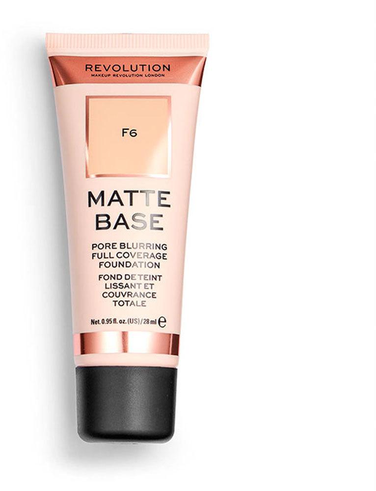 Makeup Revolution London Matte Base Makeup F6 28ml